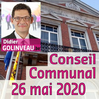 Conseil Communal du 26 mai 2020