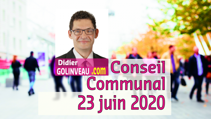 Conseil Communal du 23 juin 2020