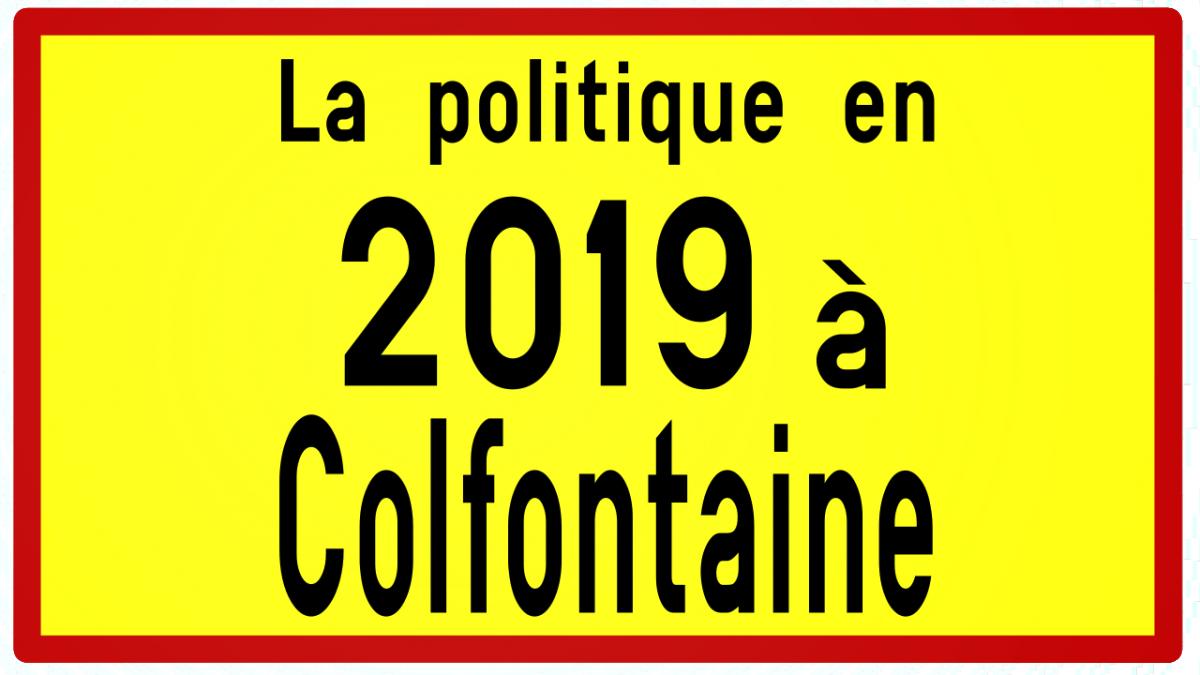 1 an de politique à Colfontaine