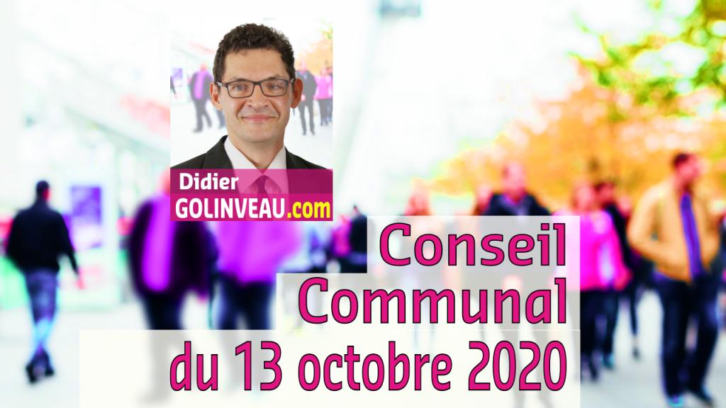 Conseil du 13 octobre 2020